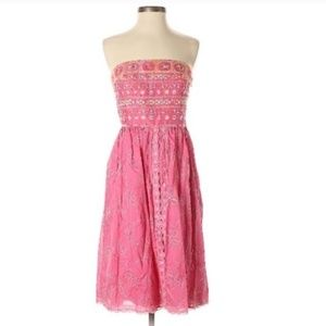 Cynthia steffe embroidered floral dress